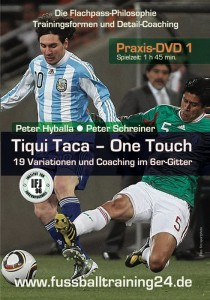 DVD Tiki Taka One Touch